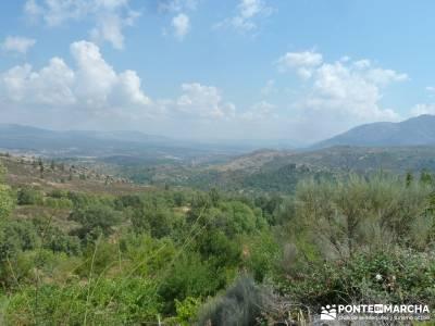 Valle del Alto Alberche;actividades de senderismo turismo de senderismo